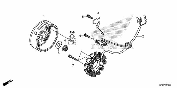 electrical parts for xr150l 2014
