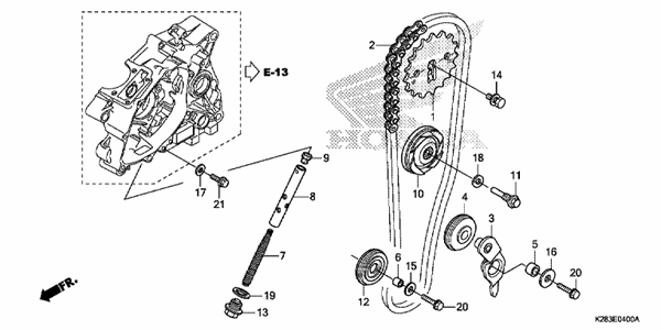 CAM CHAIN/TENSIONER