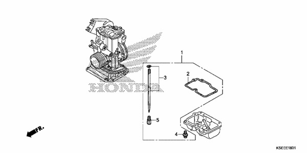 CARBURETOR O.P KIT