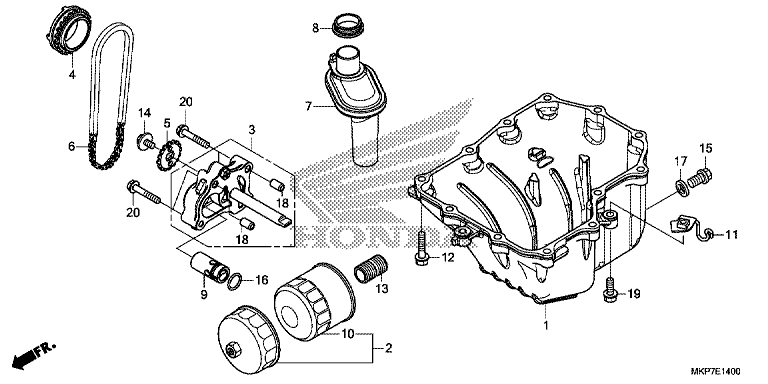 OIL PAN/OIL PUMP