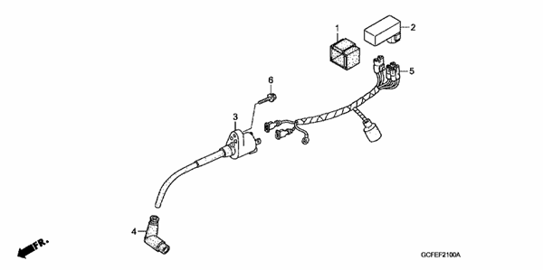 WIRE HARNESS/IGNITION COIL