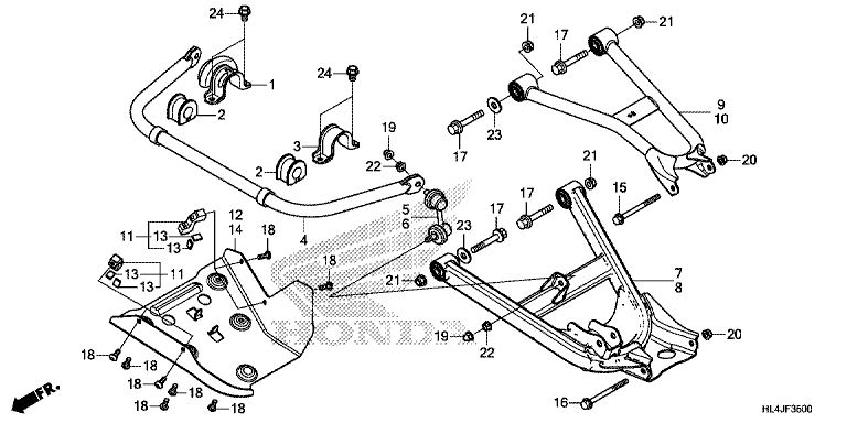 REAR ARM/REAR STABILIZER