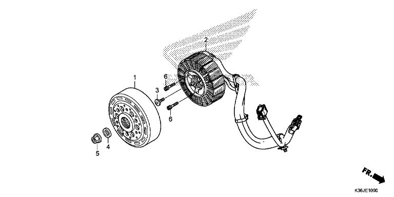 A C G STARTER - Honda Parts